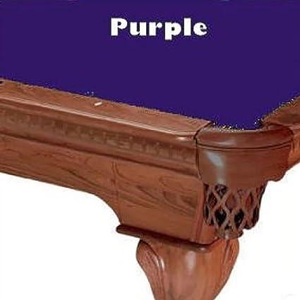 Amazoncom PROLINE Purple Classic Billiard Pool Table Cloth - Classic billiard table