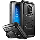 Galaxy S9+ Plus Case, i-Blason [Armorbox] [Full Body] [Heavy Duty Protection ] [Kickstand] Shock Reduction/Bumper Case Without Screen Protector for Samsung Galaxy S9+ Plus 2018 Release (Black)