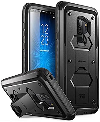 i-Blason Funda Galaxy S9 Plus Antigolpes Case con Soporte y Clip ...
