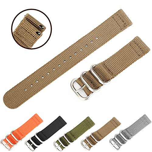 Easy Replacement Watch Bands, Boonix Quick-Change Ballistic Nylon Band