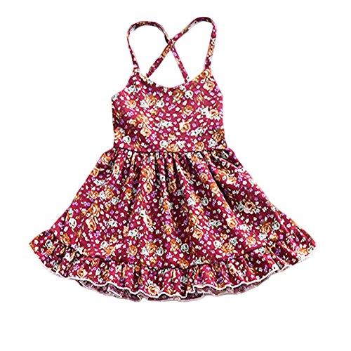 1da93699 YOHA Baby Girls Denim Soft Jumper Dress Suspender Skirts Pinafore Tutu  Dress YOHA
