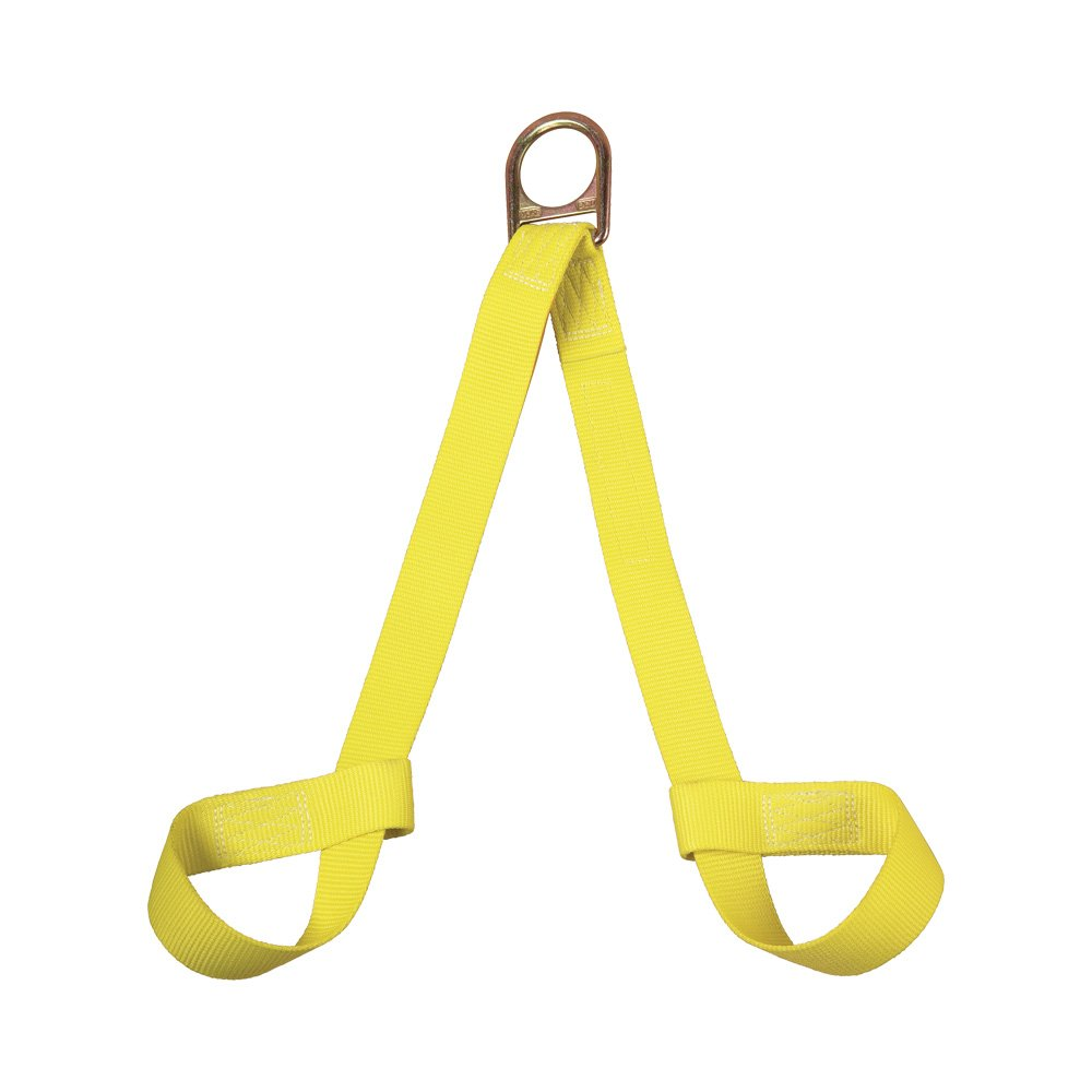 3M DBI-SALA 1001210 Retrieval Wristlets For Confined Space Rescue, 2', Yellow