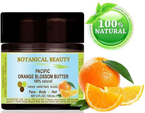 Botanical Beauty Natural Pacific Orange Blossom Butter, 4 fl