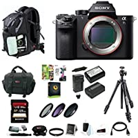 Sony Alpha a7SII Mirrorless Digital Camera (Body Only) w/ 128GB SD Card & Photo/SLR Sling Backpack Review Review Image