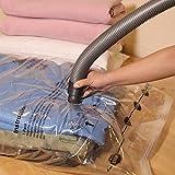Simple Houseware 10 Vacuum Storage Bags to Space