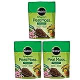 Miracle-Gro Sphagnum Peat Moss, 8-Quart (3 pack)