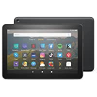 Tablet Fire HD 8, pantalla HD de 8 pulgadas, 32 GB (Negro) - Sin publicidad