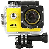 Fashion Egmy Sell Waterproof 4K SJ60 Wifi HD 1080P Ultra Sports Action Camera DVR Cam Camcorder (Yellow)