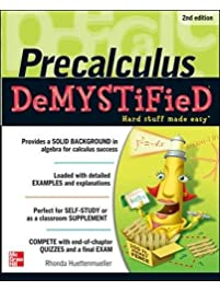 Amazon pre calculus popular elementary books pre calculus demystified second edition fandeluxe Image collections