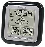 La Crosse Technology WS-9133BK-IT Wireless Forecast Station, Black