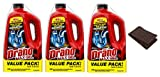 Drano Max Gel Clog Remover 80 Fluid Ounces Twin Value Pack (Set of 3) + FREE Hand Towel Brand New and Fast Shipping