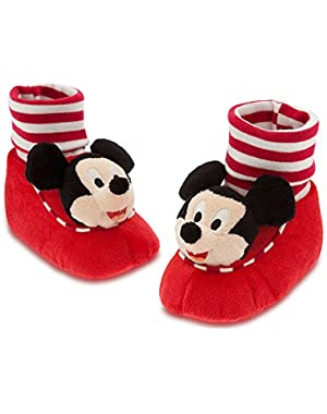 Store Mickey Mouse Plush Slippers Shoes Size 18 - 24 Months 2T 2 years