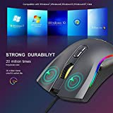 GTRACING Gaming Mouse 7200 DPI 7 Programmable RGB