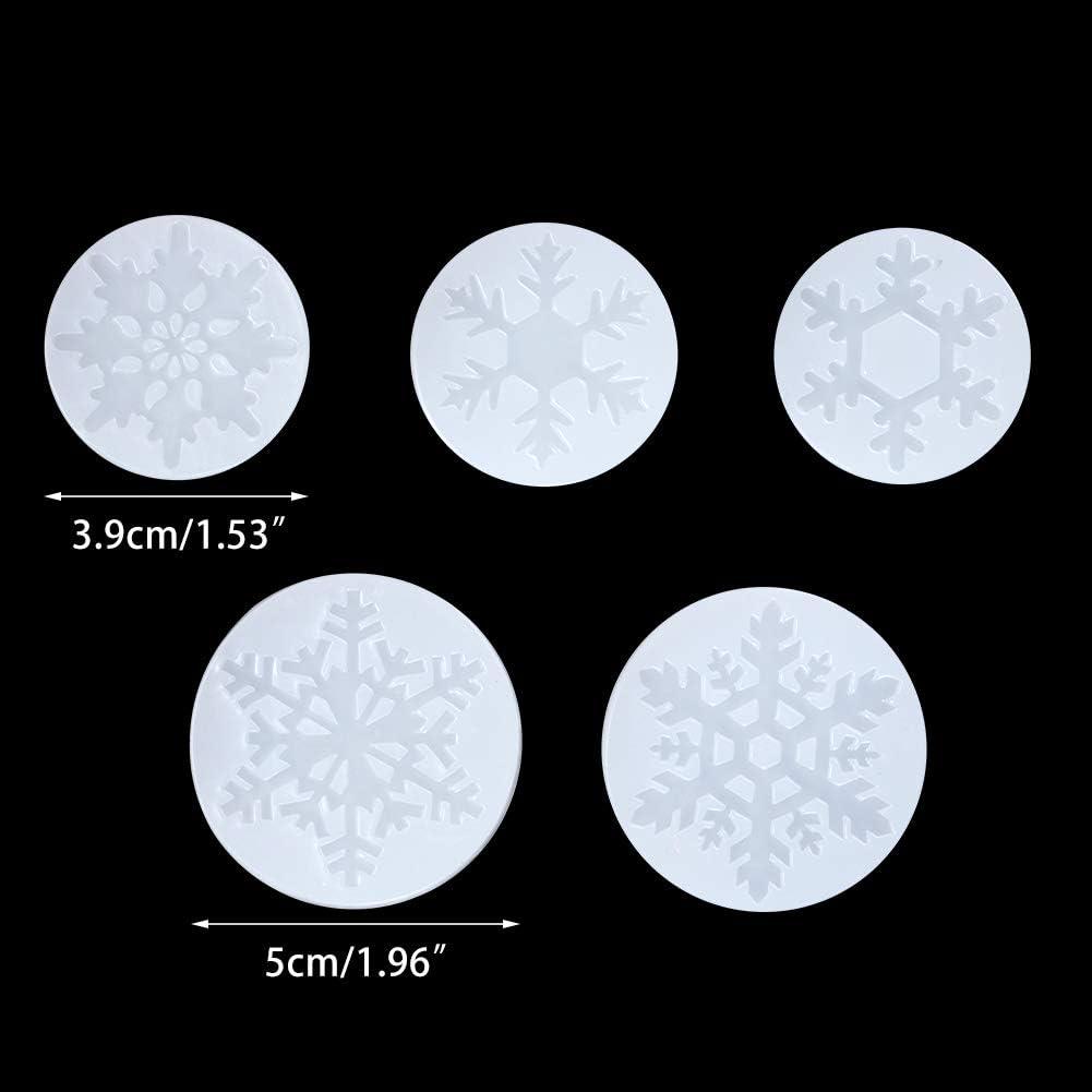 moules et moules /à Bijoux SUPVOX Moules /à moules en Silicone en Forme de Plume