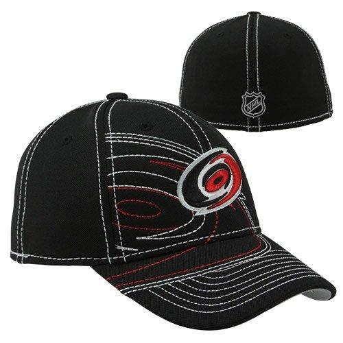 Reebok Carolina Hurricanes Draft Flex Hat - Black