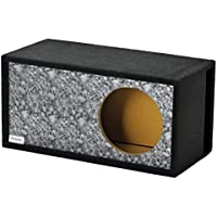 Atrend GFX Series 15LSVBB-Reaper Black Skull Pattern Single Vented SPL 15 Subwoofer Enclosure