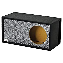 "Atrend Gfx Series 15lsvbb-reaper Black Skull Pattern Single Vented Spl 15"" Subwoofer Enclosure"