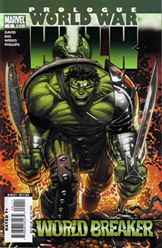 World War Hulk Prologue: World Breaker #1 VF/NM ; Marvel comic book