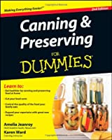 Canning and Preserving For Dummies Front Cover