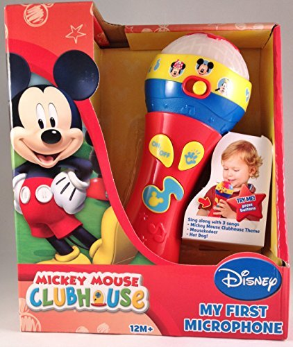 Disney Mickey Mouse Clubhouse My First Microphone (packaging may vary)]()