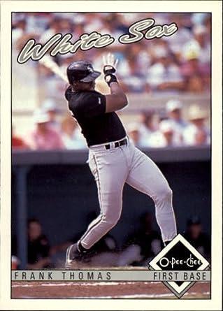 Amazoncom 1993 O Pee Chee Baseball Card 362 Frank Thomas Near