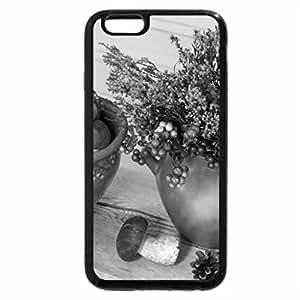 iPhone 6S Plus Case, iPhone 6 Plus Case (Black & White) - Forest harvest
