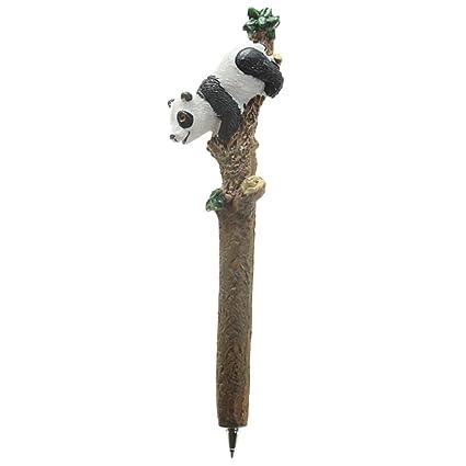 precioso kulli con divertidas Pandas oso panda/ /Bol/ígrafo roller Fineliner Texto de color negro # 50615 Panda Bol/ígrafo Idea de Regalo para oficina y Escuela