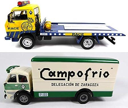 OPO 10 - Lote de 2 Camiones Pegaso 1/43: Cabezon + EKUS (LW1 + 4)