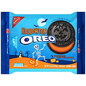 Nabisco Oreo Halloween Chocolate Sandwich Cookies, 15.35