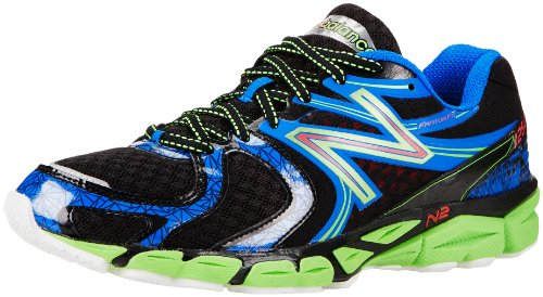 New Balance Men's M1260v3 Running Shoe,Blue/Green,10.5 D US Nbx Stability Running Shoe