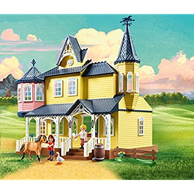 PLAYMOBIL Spirit Riding Free Lucky's House Playset, Multicolor: Toys & Games
