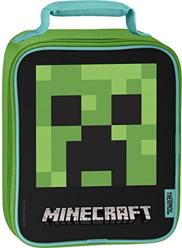 Thermos Soft Lunch Kit, Minecraft - Upright ()