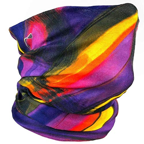 Versatile Seamless Face Mask – Perfect For Festivals, Party, Raves, Indoor-Outdoor Activities; Snowboarding, Running, Biking