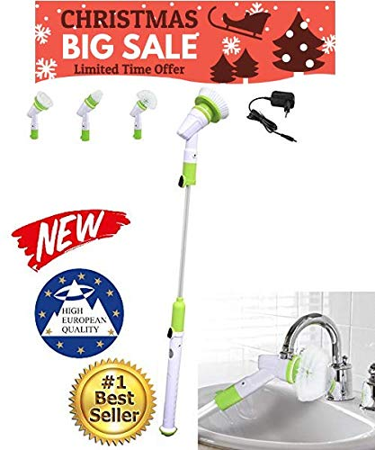 Euro Quality Spin Scrubber – Cepillo de limpieza schrubben Limpieza Limpiar & cocina accesorios turbo schrubben