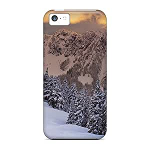 Quality Mycase88 Cases Covers With Sunset Nice Appearance Compatible With Iphone 5c wangjiang maoyi by lolosakes