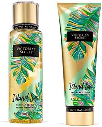 Victoria's Secret Island Sun Fragrance Mist and Lotion Set