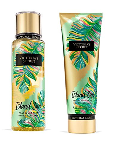 Victoria's Secret Island Sun Fragrance Mist and Lotion Set