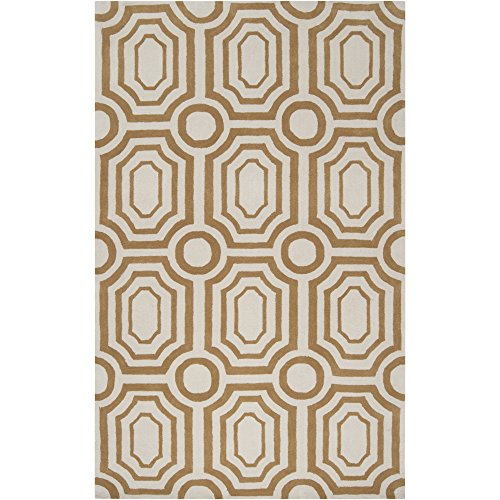 - Surya HDP-2015 Hudson Park Old Gold 3-Feet 3-Inch by 5-Feet 3-Inch Area Rug