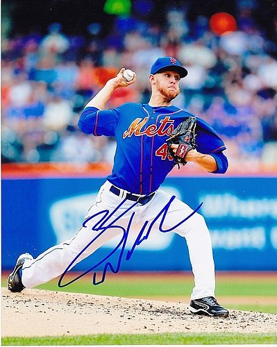 Zack Wheeler New York Mets Signed 8x10 Photo