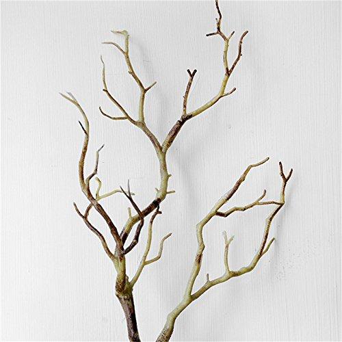 Keebgyy 6PCS Beautiful Artificial Plastic Dried Branch Simulation