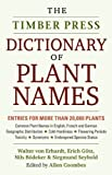 Dictionary of Plant Names 9780881920239