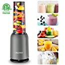 Smoothie Blender  Food Processor 127L 1700W Mixer Grater Sake Fruit Vegetable UK