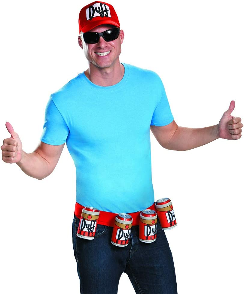 Disguise Adult Duffman Kit Standard: Amazon.es: Juguetes y juegos