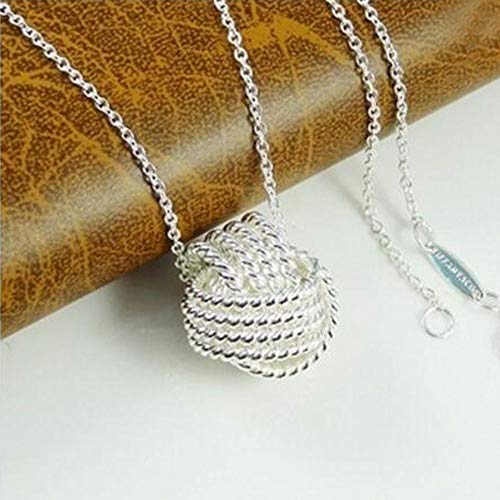 Pendant Chain Christmas Mesh Women Ball Accessories Gifts Necklace ()
