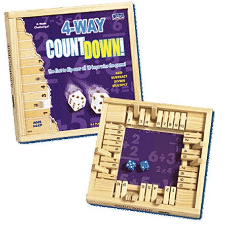 Poof-Slinky Inc 0C241 Way Countdown Game, 2 to 4 Players, Multicolor