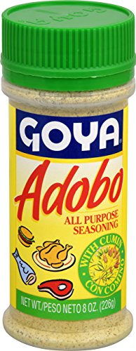 Goya Foods Adobo with Cumin, 8-Ounce (Pack of 24) by Goya