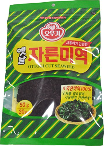 Ottogi Cut Seaweed (50g) 오뚜기 옛날 자른 미역 (50g), used for sale  Delivered anywhere in USA