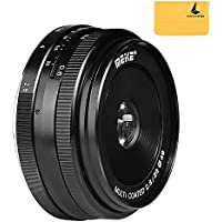 Meike MK-28mm F2.8 Large Aperture Manual Focus Lens for Canon-EF-M EOS M1/M2/M3
