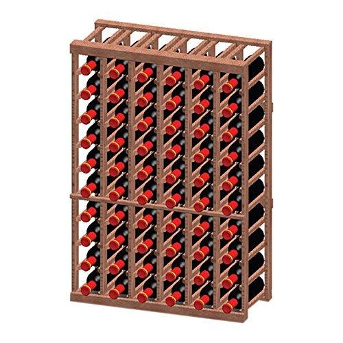 Vinotemp 6-Column 60-Bottle Half-Height Wine Rack Kit by Vinotemp