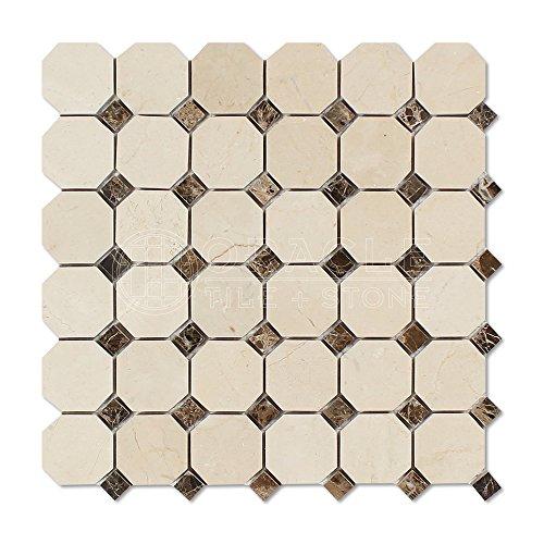 Crema Marfil Tile Flooring - 1